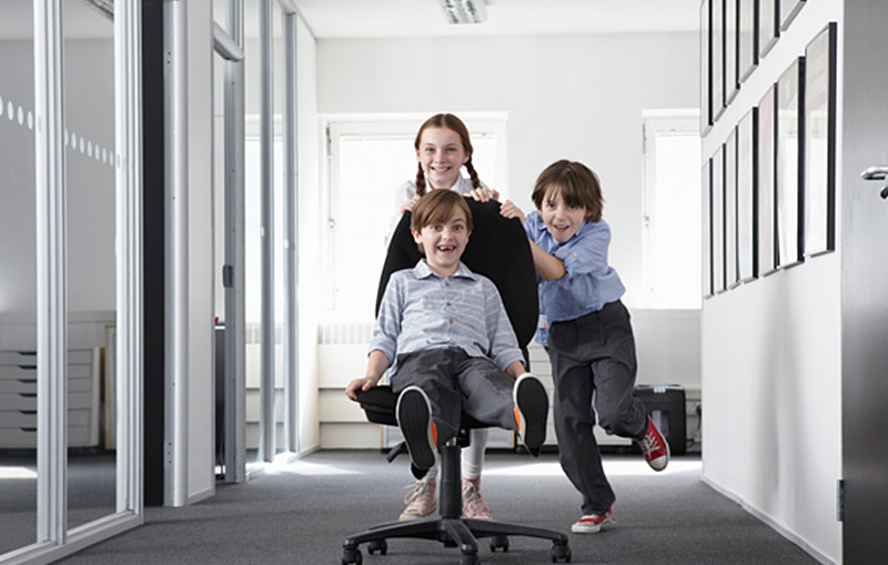 Child's Play In Your Home Office
