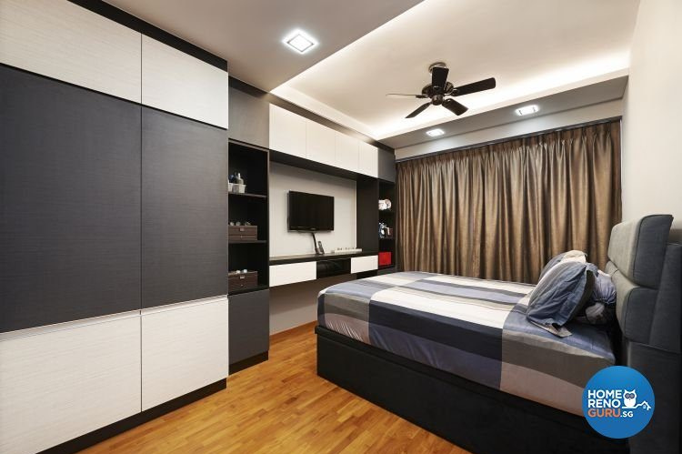 3 room bedroom designed by U Home