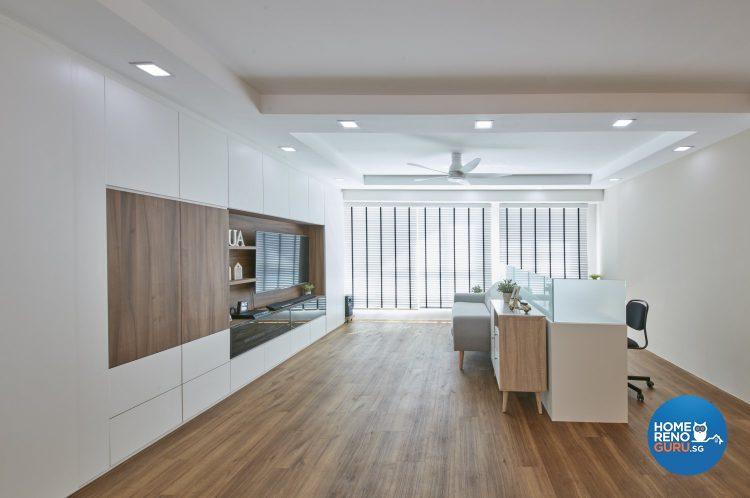4 Room HDB Designed by Carpenters (Scandinavian)