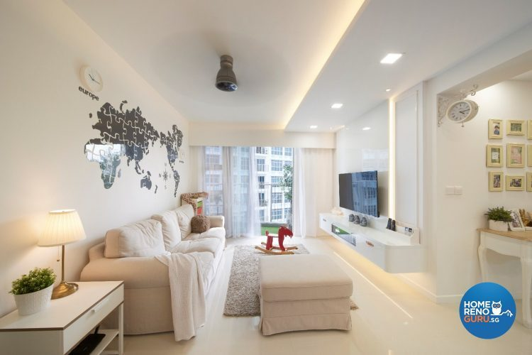 4 room designed by DC Vision