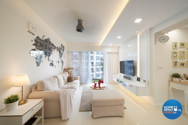 4 Room HDB Designed by DC Vision Interior Design (Minimalist)