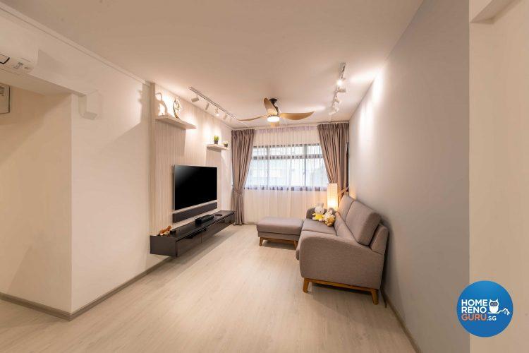 4 Room HDB Designed by ID Gallery (Minimalist)