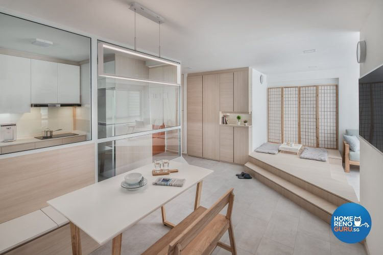 4 Room HDB Designed by Weiken (Japanese-Style)
