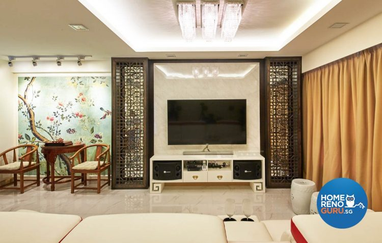 4 Room HDB Designed by Carpenters (Oriental)