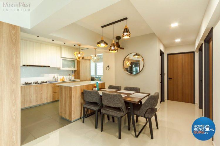 4 Room HDB Designed by Northwest Interior