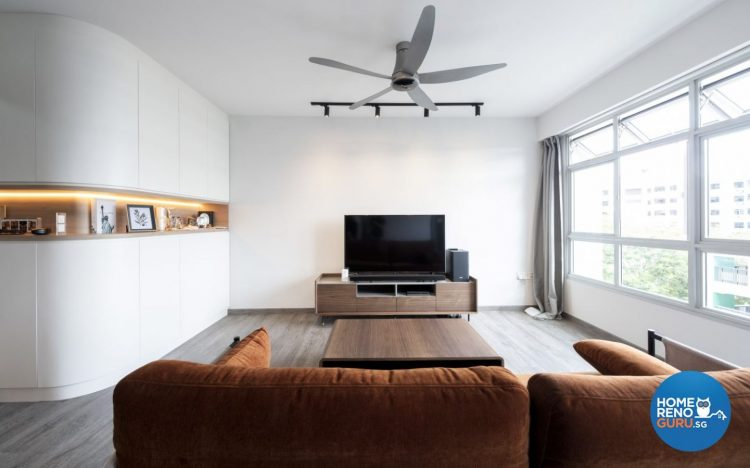 4 Room HDB Designed by Starry Homestead