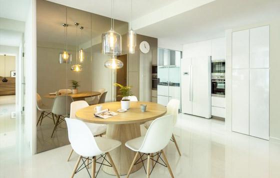 3 room flat design picture ideas - 5 Stylish Design Trends of the Dining Room HomeRenoGuru