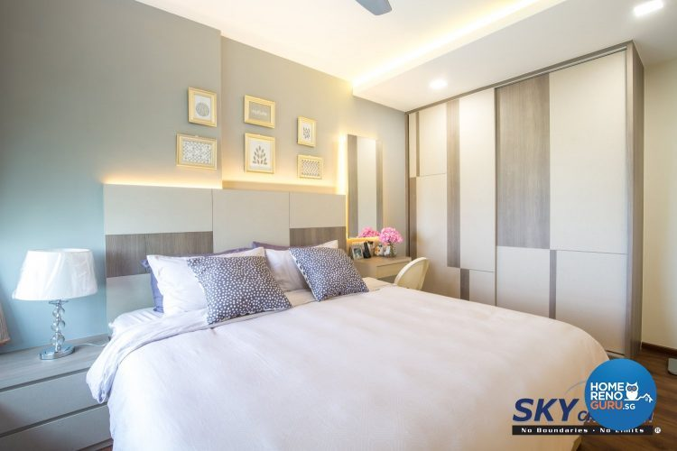 5 room bedroom designed by Sky Creation