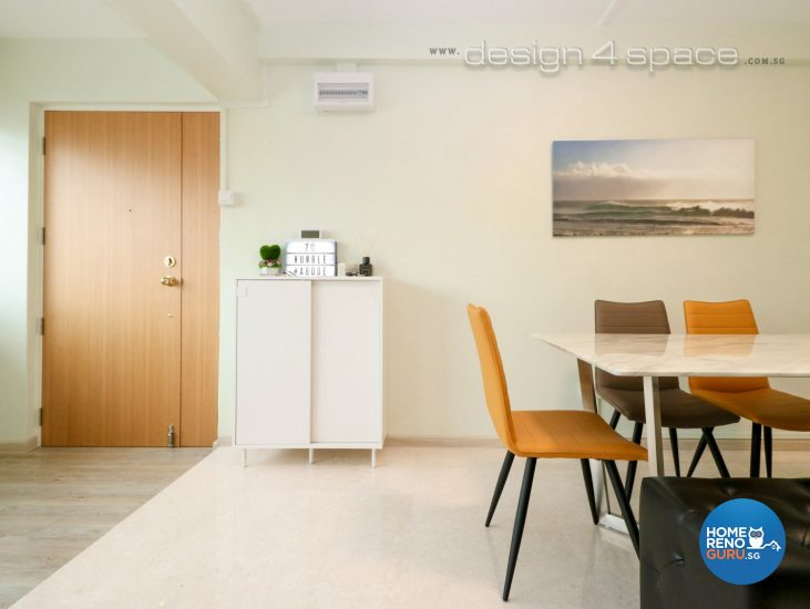 5 Room HDB Designed by Design 4 Space (Minimalist)