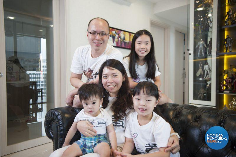Adrian, Cindy and their three lovely children – Natalie, Natasha and Nathan