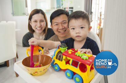 Mr and Mrs Liang and their adorable 2-year-old son Kaeden