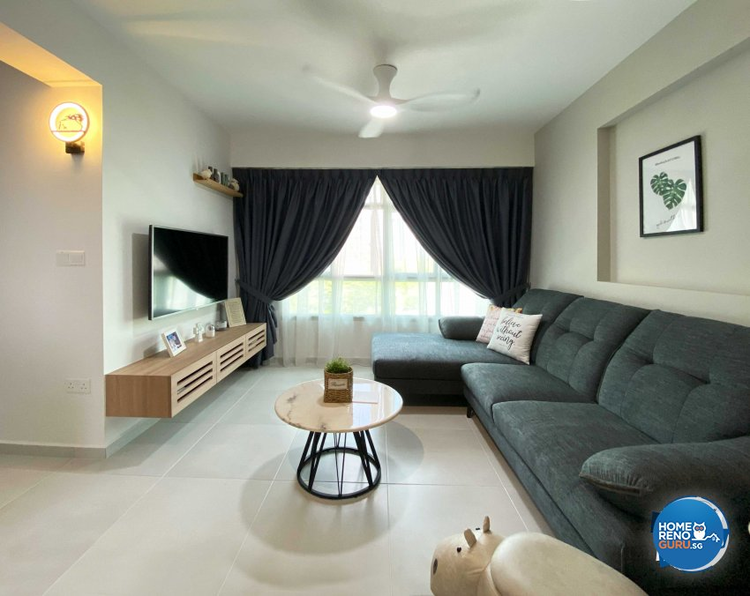 BTO 4-room designed by Sky Creation