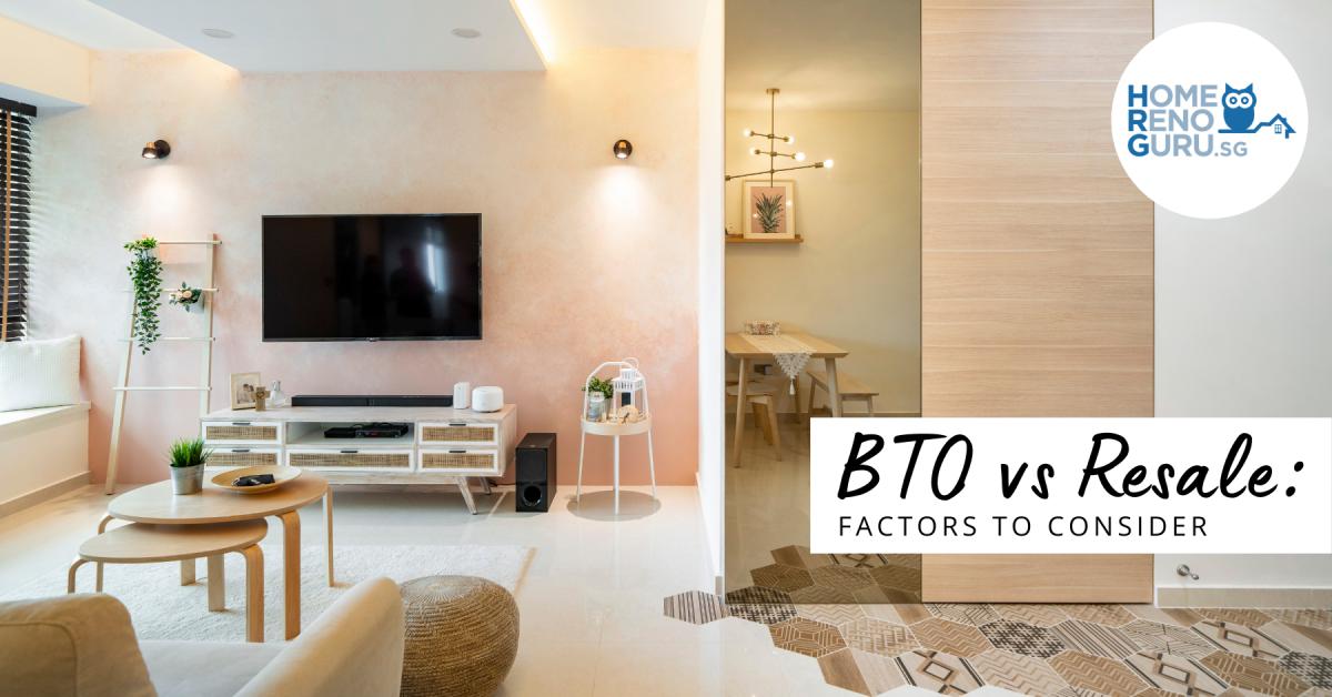 BTO vs Resale: 9 Factors To Consider [+Sale Of Balance Option]