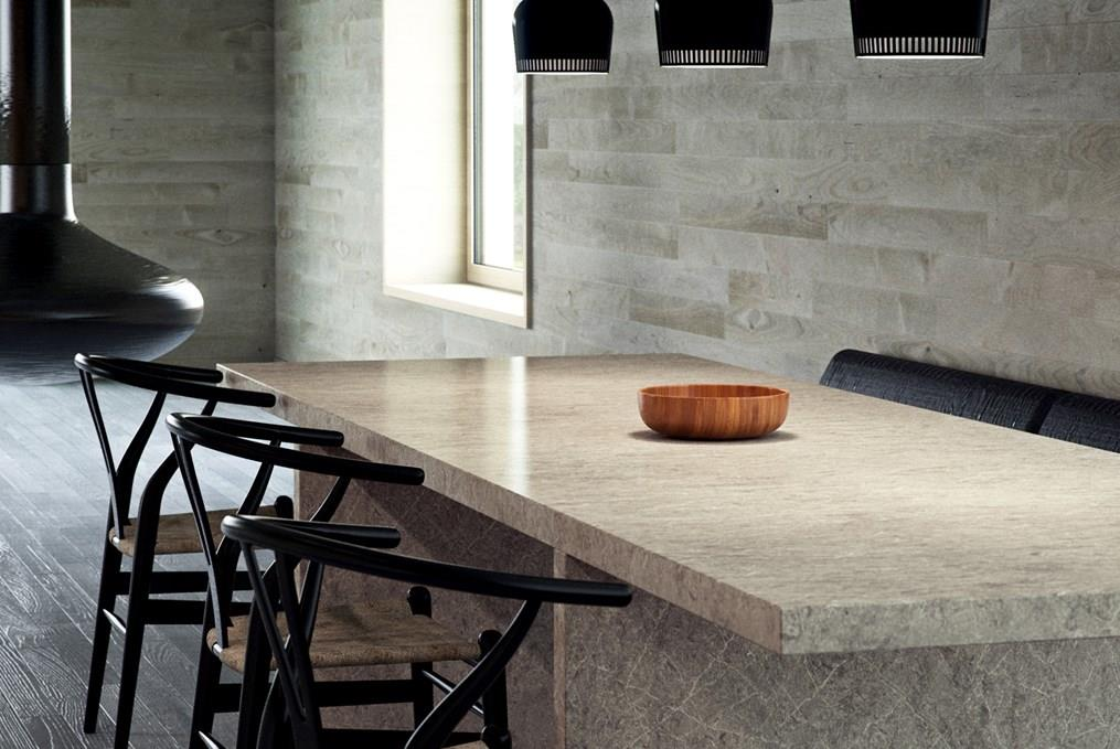 Caesarstone Supernatural used in dining table