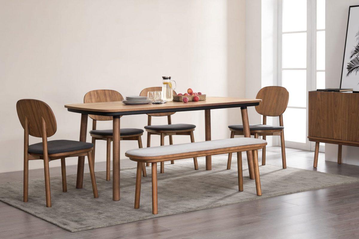 Castlery Walnut Dining Table