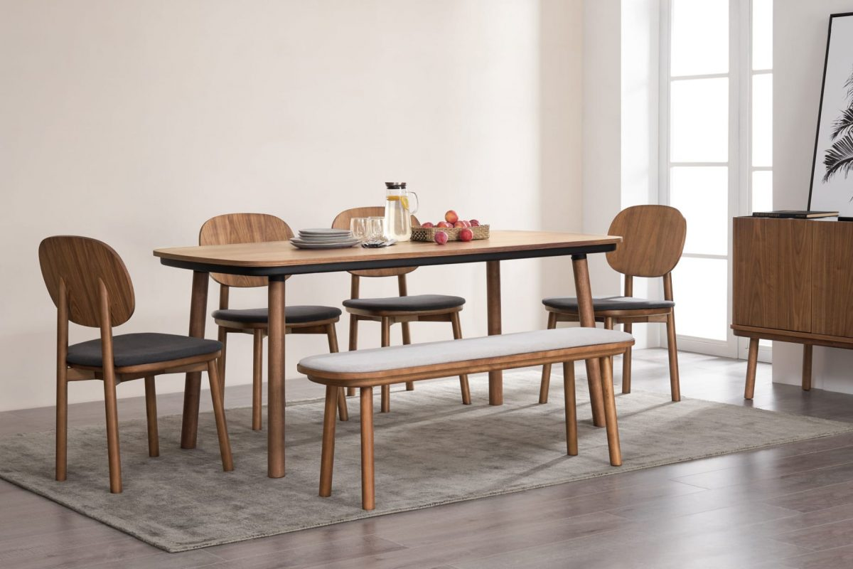 Castlery Walnut Dining Table