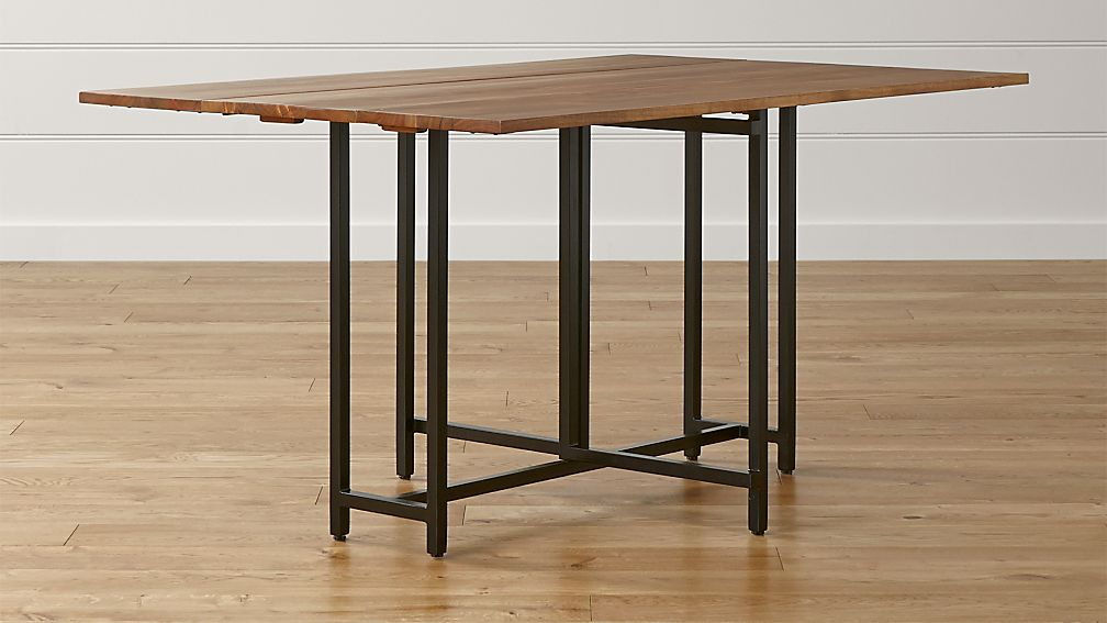 Crate and Barrel Drop Leaf Table