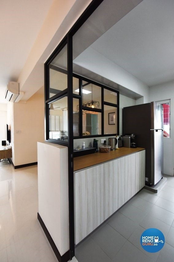Coastal Design 2 Room Bto Flat: An Open Kitchen Concept For Your HDB BTO?