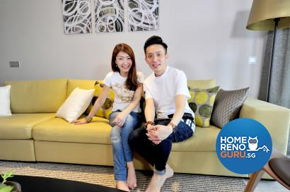 High-flying, hard-working couple, Janet Lim and Kelvin Fong