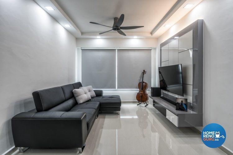 Modern 3Gen flat designed by Design Profession