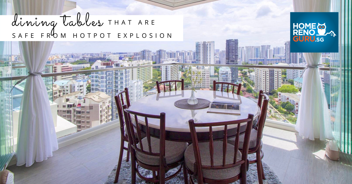 15 Most Popular Dining Tables In Sg And Where To Buy Them