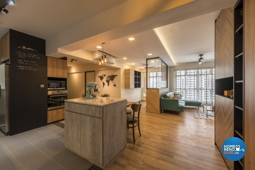 Embrace A Completely Open Floor Plan