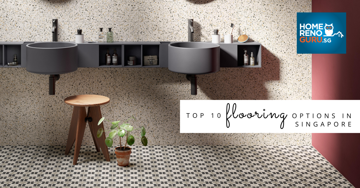10 Flooring Options In Sg Cost And, Porcelain Tile Bathroom Floor Cost