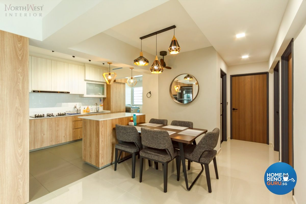 HDB 5 Room by Northwest Interior