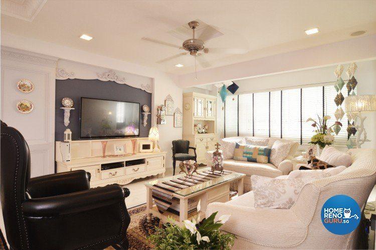 HDB Executive Apartment Designed by U Home Interior Design (Classical)