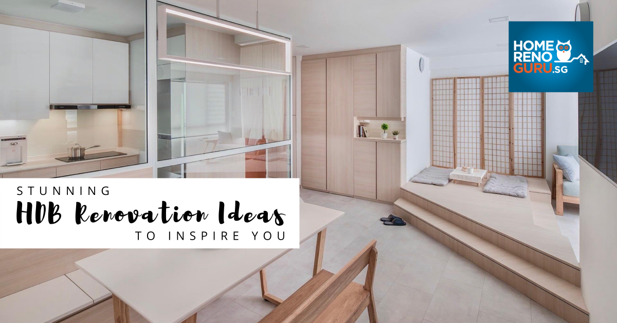 39 Hdb Renovation Ideas Designed By Singapore S Top Ids