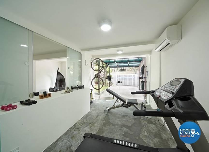 Building a gym in a singaporean home homerenoguru sg