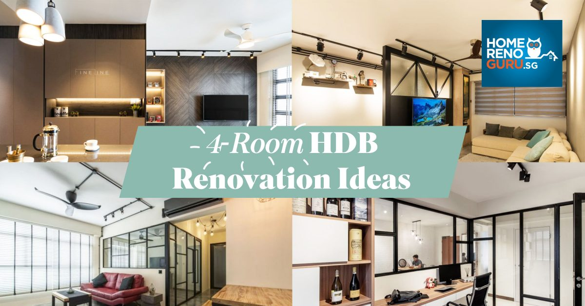 4 Room Hdb Flat Renovation Ideas Homerenoguru Sg