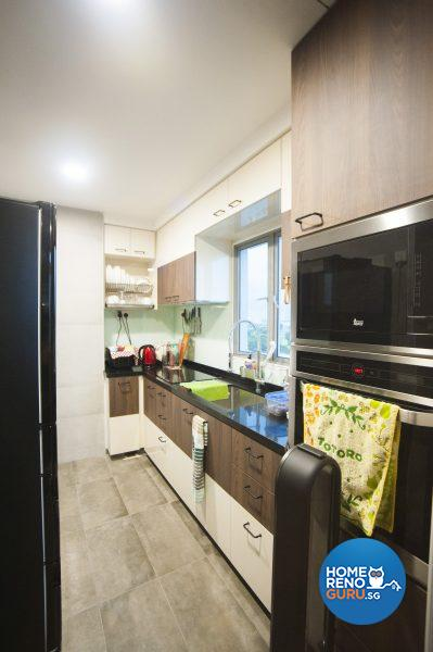 A functional and easy-to-maintain kitchen