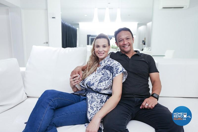 Exclusive Dream Home Fandi Ahmad Amp Wendy Jacobs Home Tour