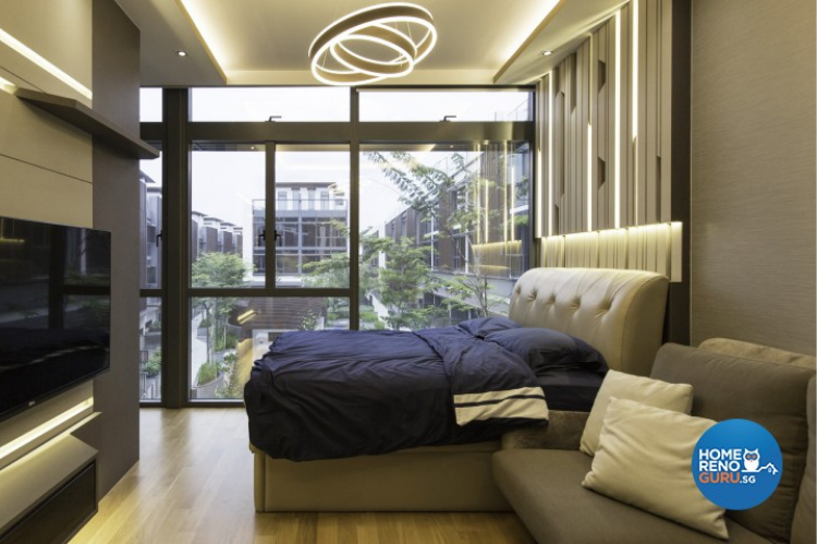 Modern bedroom designed by U Home