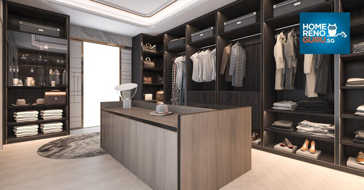 Walk In Wardrobe Inspiration Homerenoguru Sg