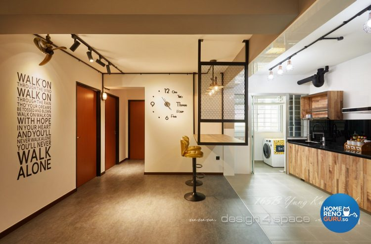 Open plan space by Design 4 Space