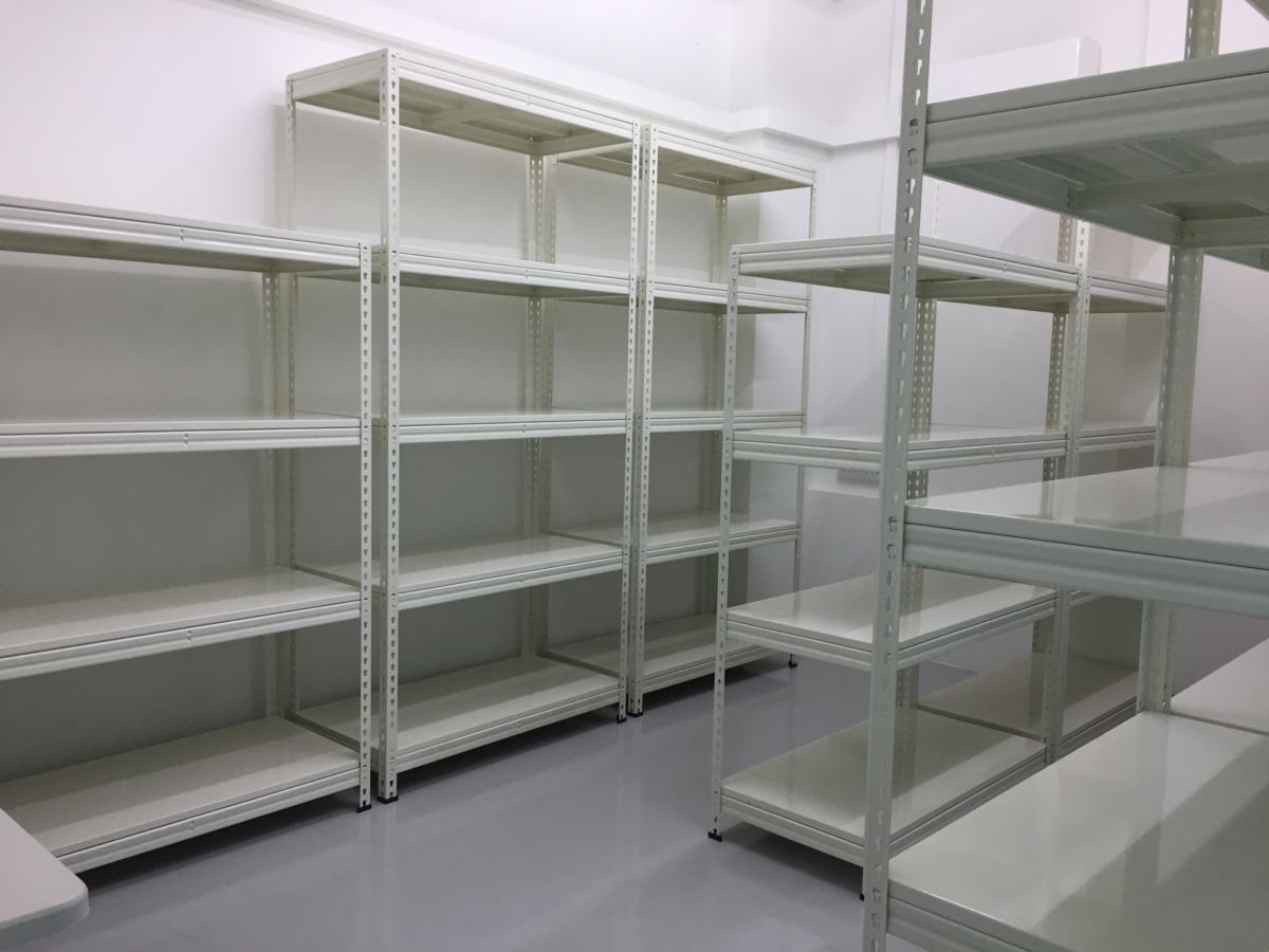 Storeroom racks
