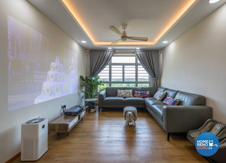 3gen flat designed by Swiss Interior design