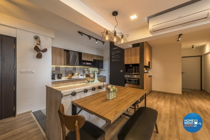 An Open Kitchen Concept For Your Hdb Bto Homerenoguru Sg