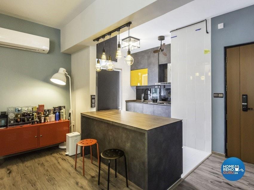An Open Kitchen Concept For Your Hdb Bto Homerenoguru Sg