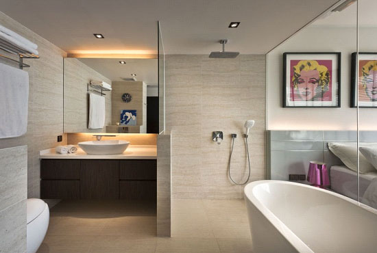 Contemporary Bathroom by Retz & Relax Interior
