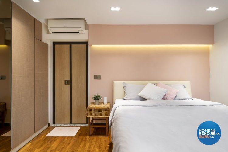 hdb 4-room bedroom by fineline design