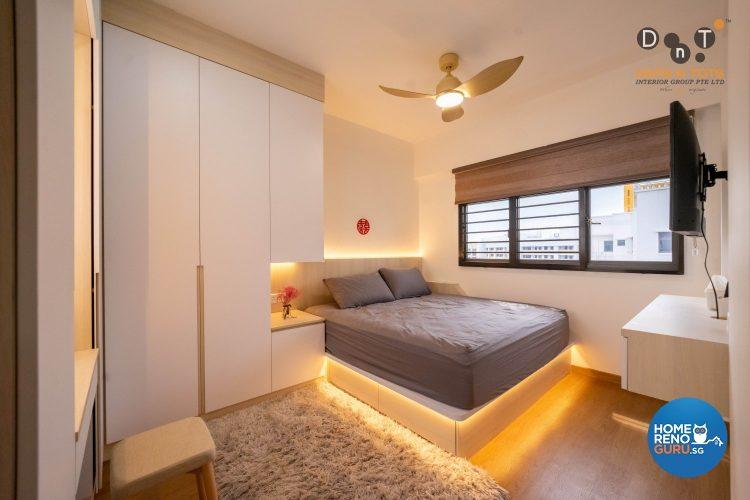 hdb 4-room bedroom design by dots n tots