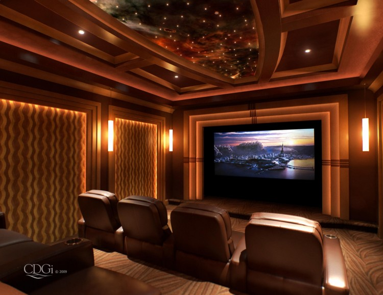home theater decor pictures home theatre right in your renovated home 11558