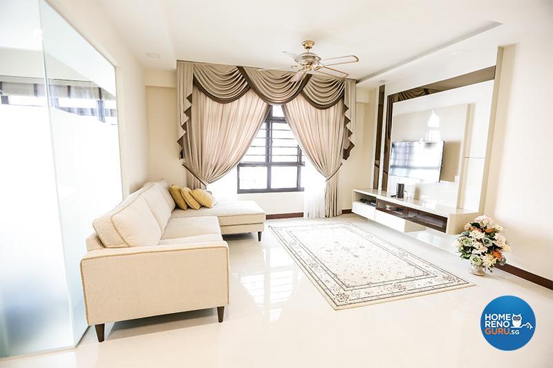Dream Home of Aliff & Sulailah - Love Home Interior | HomeRenoGuru ...
