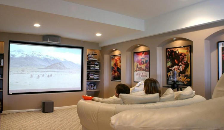 Home Theatre Right In Your Renovated Home