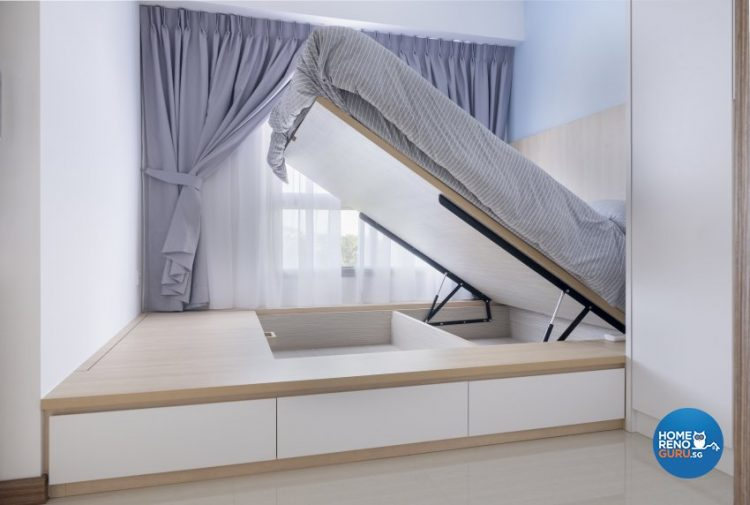 platform bed by starry homestead