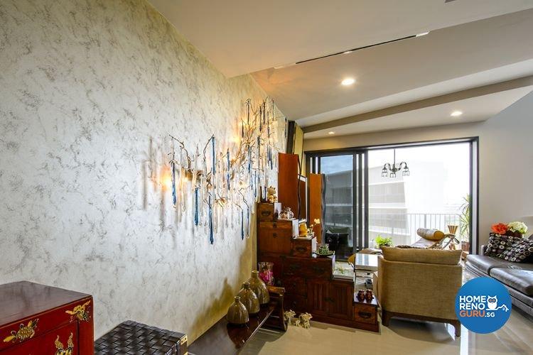 Modern, Scandinavian Design - Living Room - Condominium - Design by 1 Works Pte Ltd