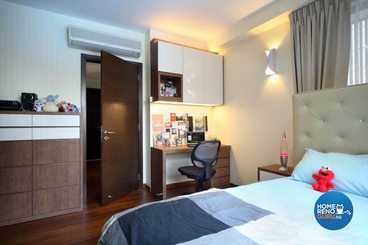 Contemporary, Modern, Scandinavian Design - Bedroom - Landed House - Design by 2nd Phase Design